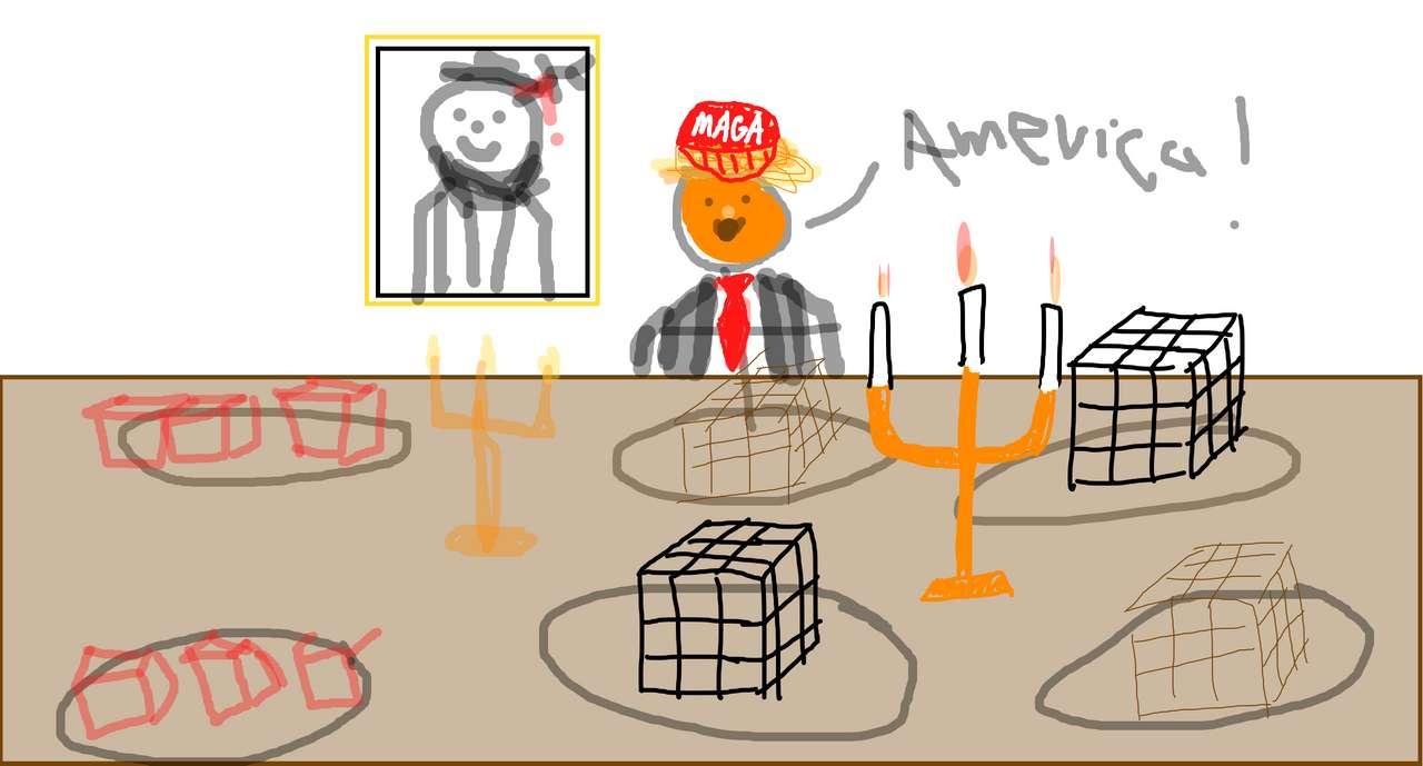 Donald Trump. puzzle