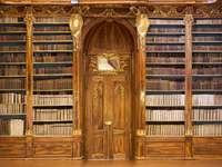 Hala filozoficzna - Biblioteka klasztoru Strahov