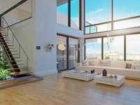 nowoczesny projekt wnętrza domu