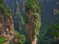 Niebiański filar Hallelujah Mountain w Tianzi