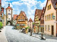 Rothenburg ob der Tauber, Frankonia, Bawaria