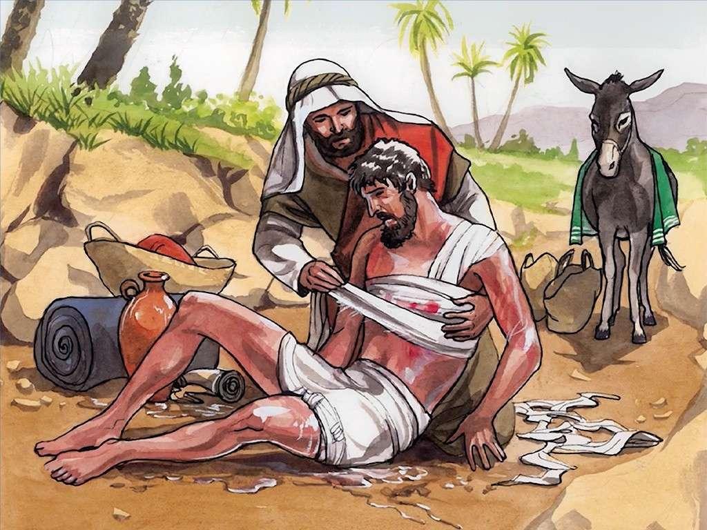 Dobry samaritan.