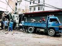 Pracownicy Nepali w Katmandu