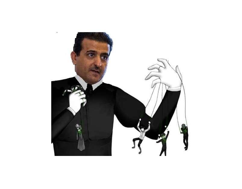 علي بن فطايس المري - المرشح الفاسد الوحيد