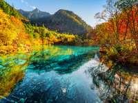 Jezioro Pięciu Kwiatów (Jezioro Wielokolorowe)