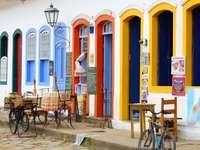 Restauracja na Starym Mieście w Paraty