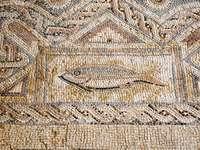 Płytki podłogowe w Kourion, Cypr