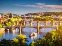 Wełtawa i mosty