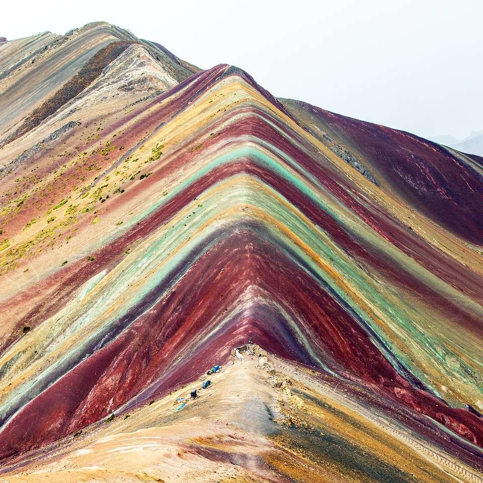 Tęczowe góry w peruwiańskich Andach