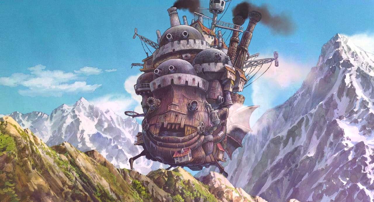Ruchomy zamek Hauru puzzle