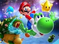 Puzzle z Mario Galaxy