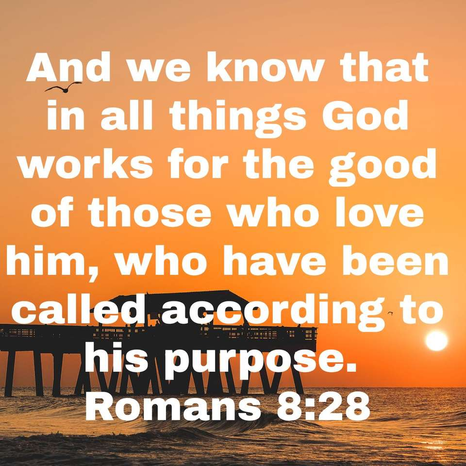Rzymian 8:28 puzzle online