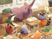 Zwierzęta w szkole
