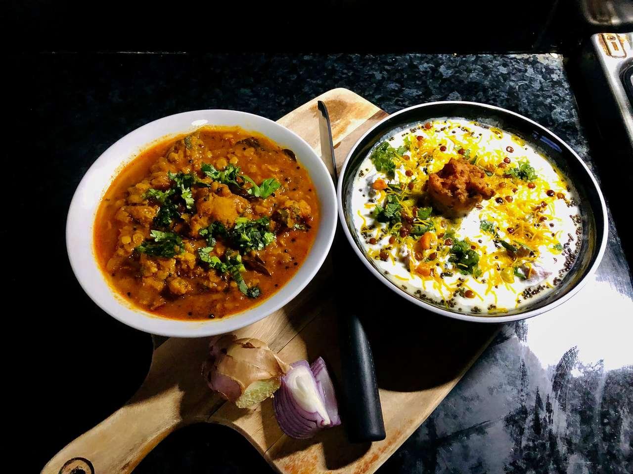 Kuchnia indyjska puzzle online