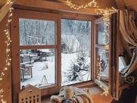 święta okno