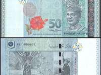 Wang Ringgit Malezja RM 50