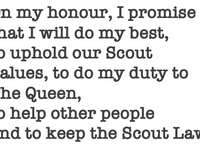 Scout Promise Athiest Version