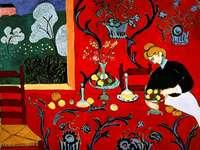 """Henri Matisse """"Harmonia w czerwieni"""""""