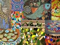 Kolorowe mozaiki