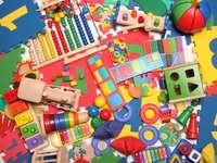 bardzo wiele zabawek dla dzieci puzzle online