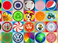 Wszechobecne koło puzzle ze zdjęcia